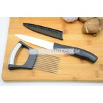 Ceramic knife and Stainless Steel 304 Onion slicing Holder/Meat Fork needle / Vegetable Slicer/cutting guide