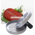 Kitchen Tool Meat Aluminum Mini Hamburger Patty Mold Maker Burger Press