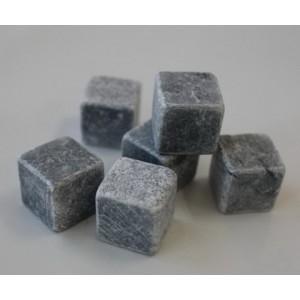 Soapstone whiskey stones 6pcs/set gift box