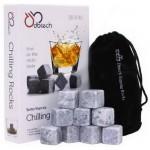 Soapstone whiskey stones 9pcs/set gift box