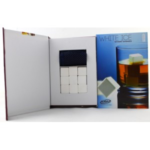 Ceramic whiskey stones 9pcs/set gift box