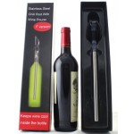Wine chill rod and wine pourer
