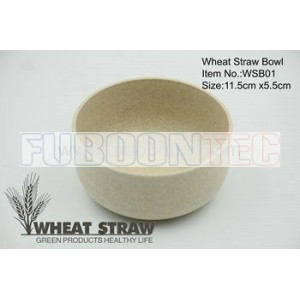 Wheat straw bowl WSB01