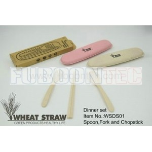 Wheat straw dinner set WSDS01