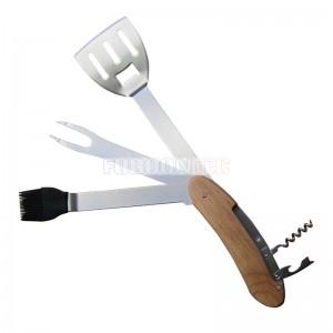 Apartable 5 in 1 Multi BBQ tool